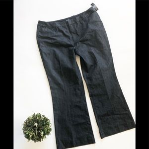 NWT JC Penney ANA Wide Leg Trouser Jeans -Sz 18